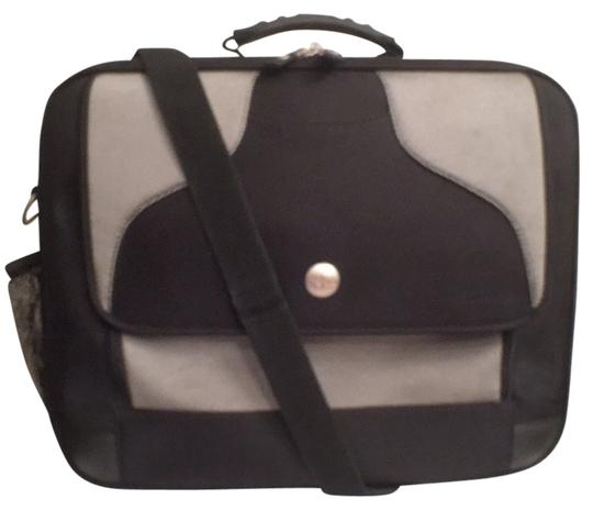 Preload https://img-static.tradesy.com/item/14591704/briefcase-black-silver-nylon-laptop-bag-0-1-540-540.jpg
