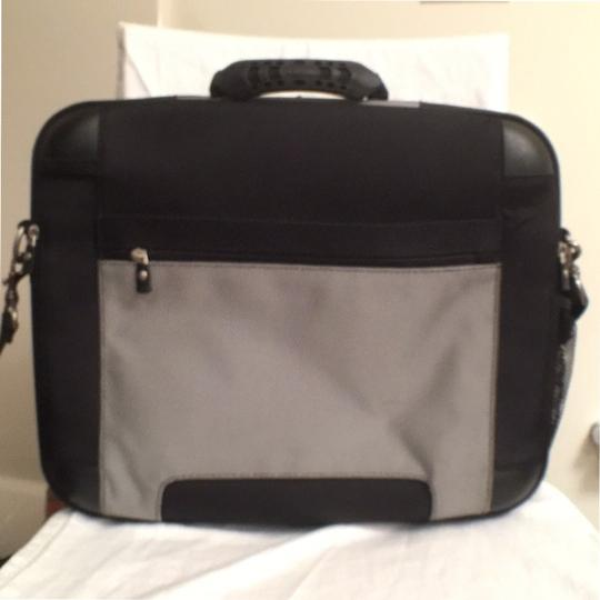 Dell Briefcase Men's Computer Travel Nylon Laptop Bag Image 3