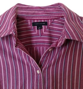 Tommy Hilfiger Button Down Shirt Multicolor stripe