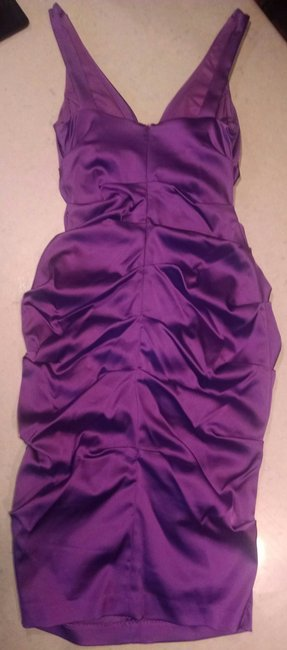 Xscape Ruched Statin Pencil Dress Image 5