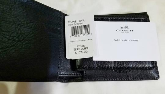 Coach Coach men's Leather compact ID wallet (Ship VIA USPS Priority mail) Image 1