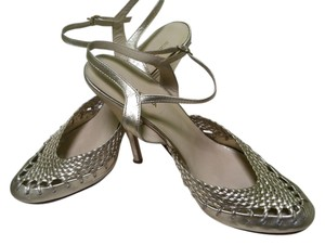 BCBGMAXAZRIA Gold Metallic Sandals