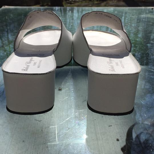 Robert Clergerie White Mules Image 3
