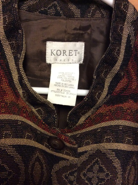 Koret Fall/Winter Colors Look Good With Any Outfit Browns Blazer