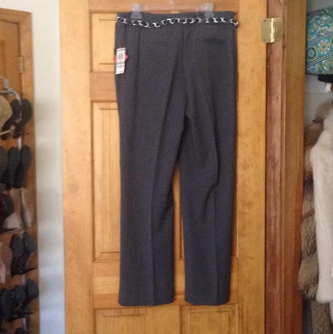 Style & Co Wide Leg Pants Charcoal Image 5