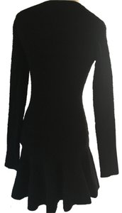 Lulu*s short dress Black Mini Longsleeve on Tradesy