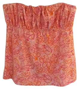 Lilly Pulitzer Top Pink, Orange and Yellow
