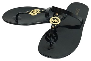 Michael Kors Beach Summer Black Sandals