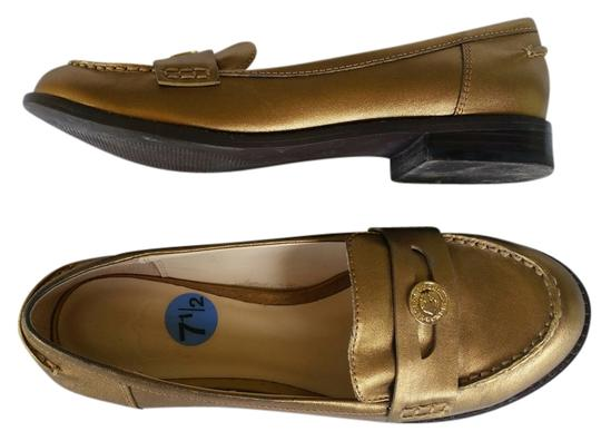 Preload https://img-static.tradesy.com/item/14593165/c-wonder-gold-leather-penny-loafers-flats-size-us-75-regular-m-b-0-1-540-540.jpg