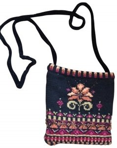 Icelandic Design Scandinavian Swedish Norway Frozen Beading Ski Skiing Sport Knit Knit Beaded Artsy Frozen Elsa Anna Cross Body Bag