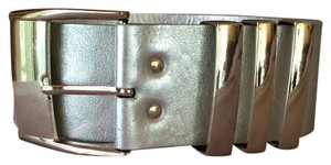 Versace for H&M Versace Metallic Leather Belt