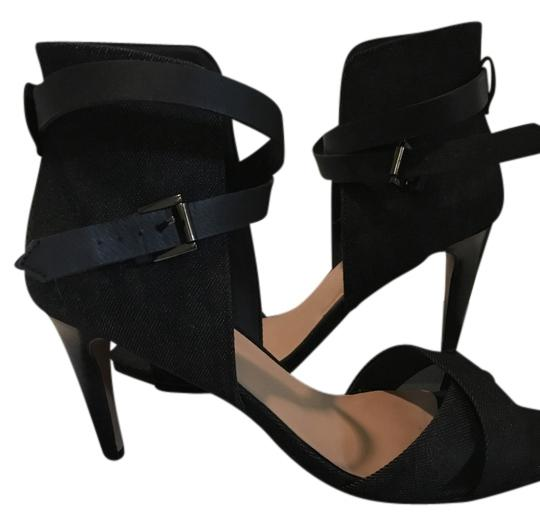 Preload https://img-static.tradesy.com/item/14594011/joe-s-jeans-black-and-black-denim-heels-sandals-size-us-9-0-1-540-540.jpg