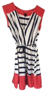 Mango short dress Red, white, and blue Fourth Of July 4th Of July Red Striped Summer on Tradesy
