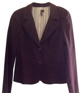 True Meaning Burgundy With Pinstripes Blazer