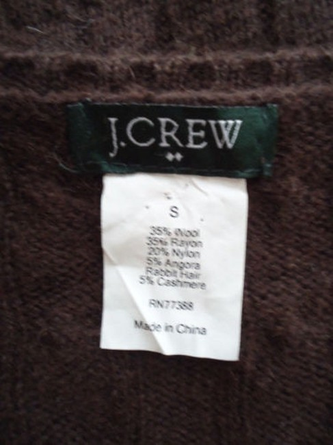 J.Crew Cashmere Blend Cable Knit Classy Sweater Image 6