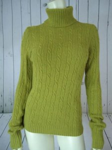 J.Crew Wool Cashmere Blend Turtleneck Sweater
