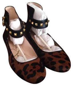 Jessica Simpson Brown Combo Flats