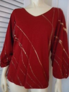 Kenneth Cole Reaction Soft Knit Viscose Cashmere Blend Chic Sweater