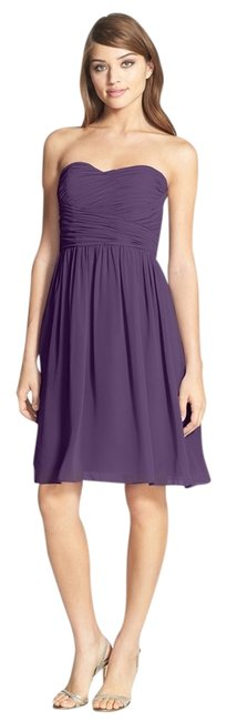 Preload https://item3.tradesy.com/images/donna-morgan-purple-amethyst-strapless-knee-length-cocktail-dress-size-16-xl-plus-0x-1459502-0-0.jpg?width=400&height=650
