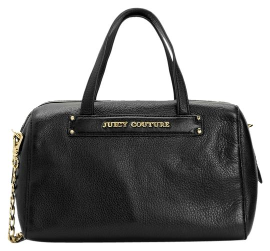 Preload https://item4.tradesy.com/images/juicy-couture-small-steffy-black-leather-satchel-1459503-0-0.jpg?width=440&height=440