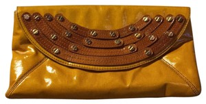 Tory Burch Tan Clutch