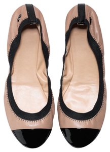 Cole Haan Taupe and black Flats