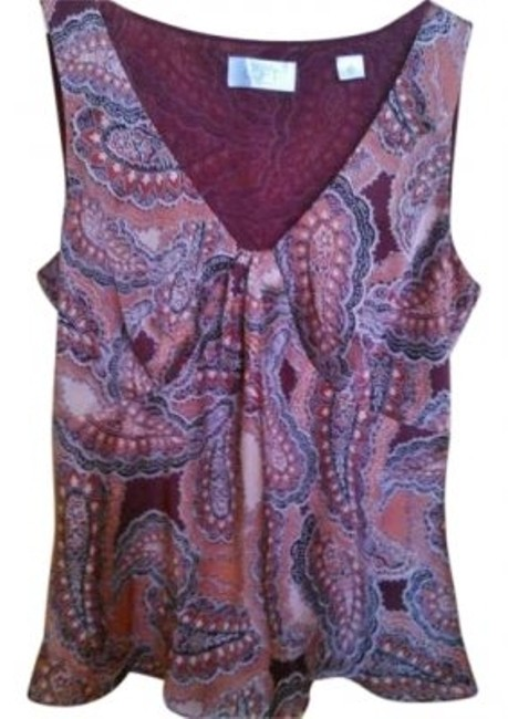 Preload https://item5.tradesy.com/images/ann-taylor-loft-cranberry-paisley-burgundy-blouse-size-petite-2-xs-145954-0-0.jpg?width=400&height=650