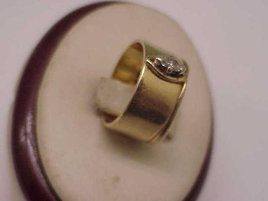 Other Estate 14k Yellow Gold Engagment .25ct Diamond Ring,1950's Image 1