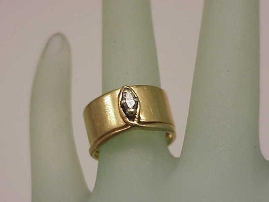 Other Estate 14k Yellow Gold Engagment .25ct Diamond Ring,1950's Image 3