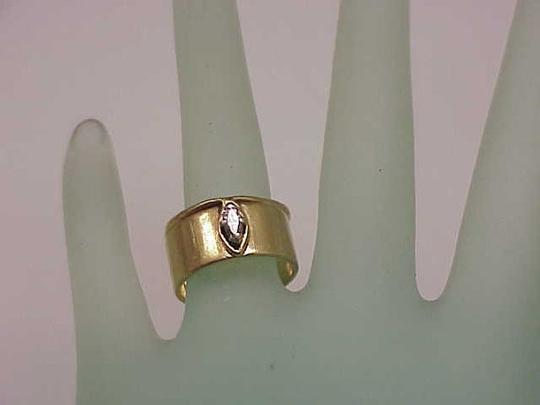 Other Estate 14k Yellow Gold Engagment .25ct Diamond Ring,1950's Image 4