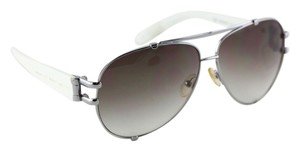 Marc by Marc Jacobs * Marc by Marc Jacobs Aviator White Sunglasses MMJ 064/S