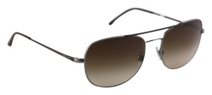 A|X Armani Exchange Armani Exchange Aviator Brown Sunglasses AR 6012-Q