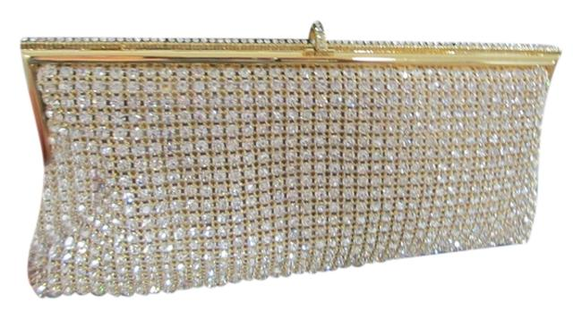 Item - Gold Swarovski Clutch