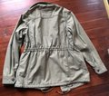 Gap Military Style Oversized Anorak Thick Cotton Distressed Coat Image 2