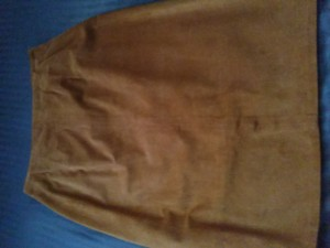 Burberry Skirt rust