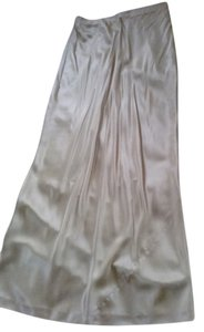 Donna Karan Maxi Skirt golden