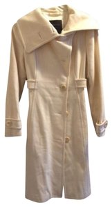 Aritzia Wool Fitted Crossover Trench Coat