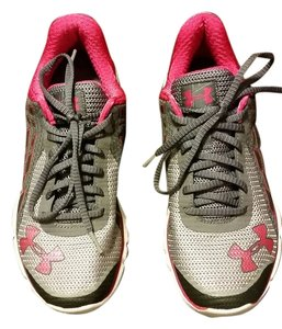 Under Armour Gray & Pink Athletic
