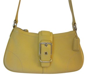 Coach Soft Leather Shoulder Bag