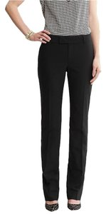 Banana Republic Sleek Chic Work Career Straight Pants Black