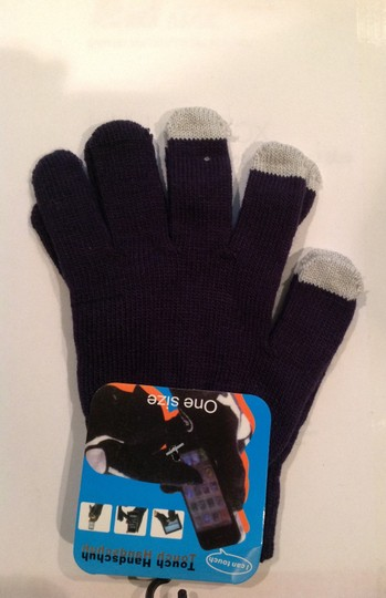 Other Purple - 14 colors Magic Touch Screen Gloves Smartphone Texting Stretch Winter Knit Warm