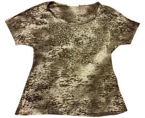 Maurices Top Gray, Black & Sequins