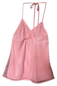 Burberry Stretchy Sexy pink Halter Top
