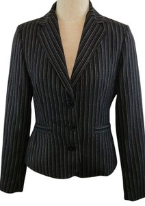 CAbi Jacket Joey Black, White Blazer