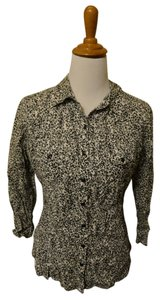 Nollie Slim-fit Animal Print Pacsun Button Down Shirt Leopard