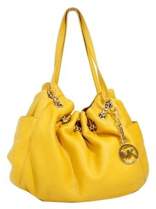 Michael Kors Hobo Leather Chain Shoulder Bag