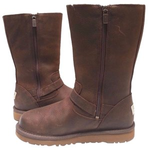 UGG Australia Winter Leather Toast Boots