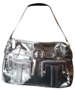 Cole Haan Patent Leather Shoulder Bag