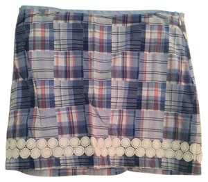 Vineyard Vines Mini Skirt Blue, white, coral