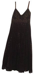 Black and nude Maxi Dress by Muse